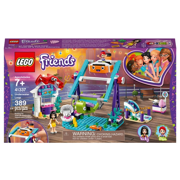LEGO 41337 Friends Underwater Loop Amusement Park Set