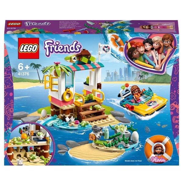 LEGO 41376 Friends Turtles Rescue Mission Boat Sea Life Set