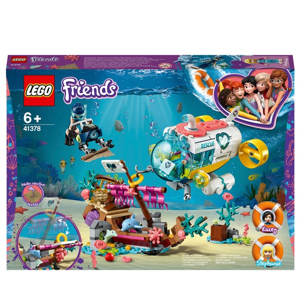 Lego Friends Christmas Sets.Lego 41378 Friends Dolphins Rescue Mission Boat Sea Life Set Lego Friends Uk