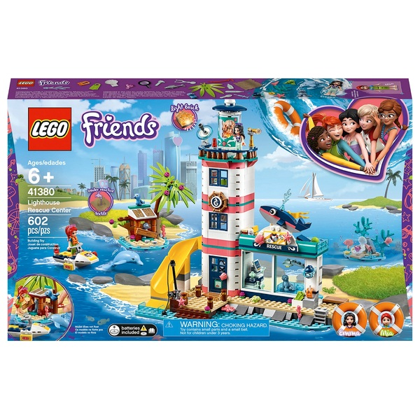 Lego Friends Christmas Sets.Lego 41380 Friends Lighthouse Rescue Center Sea Life Vet Set Lego Friends Uk