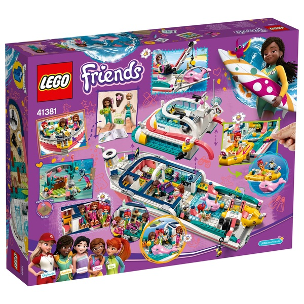 Lego Friends Christmas Sets.Lego 41381 Friends Rescue Mission Boat Toy Sea Life Set Lego Friends Uk