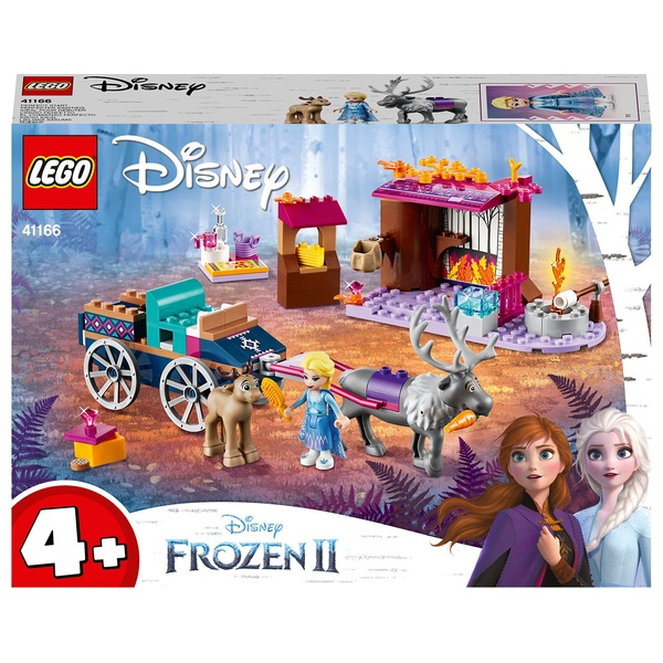 LEGO 41166 Disney Frozen II Princess Elsa's Wagon Adventure Set