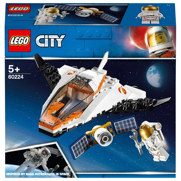 LEGO 60224 City Satellite Service Mission Space Toy