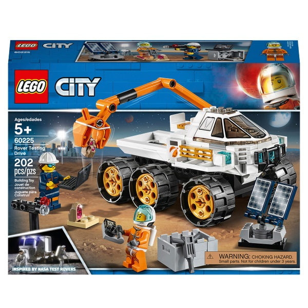 LEGO 60225 City Rover Testing Drive Space Toy