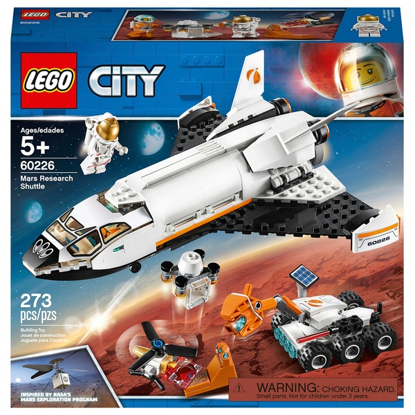 LEGO 60226 City Mars Research Shuttle Space Toy