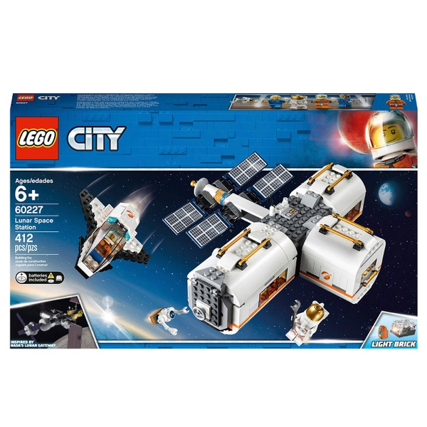 Lego 60227 City Space Lunar Space Station by Smyths