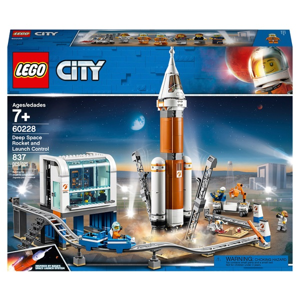 LEGO 60228 City Deep Space Rocket and Launch Control Set