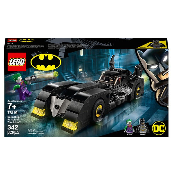 LEGO 76119 4+ DC Batman Batmobile: Pursuit of The Joker Toy