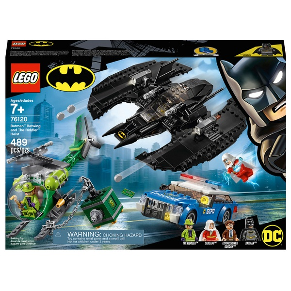 LEGO 76120 Batman Batwing and The Riddler Heist Toys