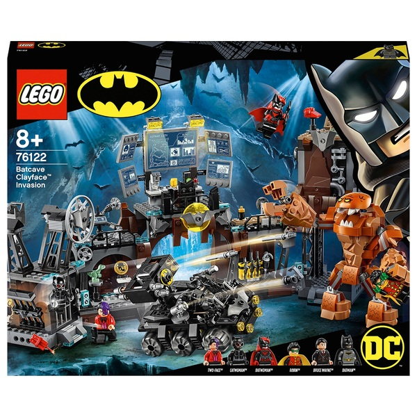 LEGO 76122 DC Batman Batcave Clayface Invasion Building Toys