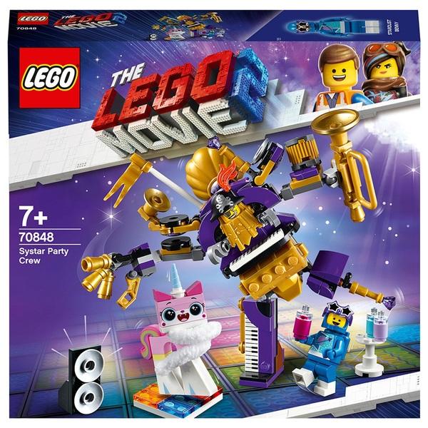 LEGO 70848 MOVIE 2 Systar Party Crew Building Set