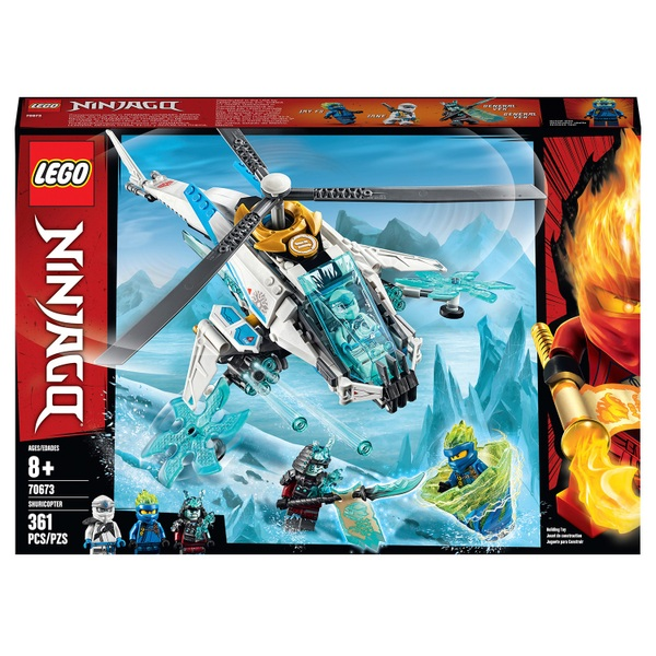 LEGO 70673 NINJAGO ShuriCopter Ninja Helicopter Toy