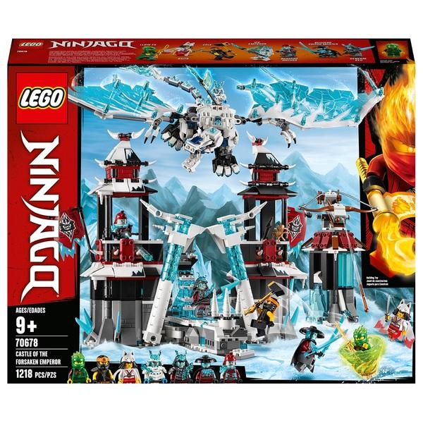 LEGO 70678 NINJAGO Castle of the Forsaken Emperor Toy