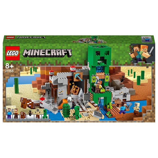 LEGO 21155 Minecraft The Creeper Mine Building Set