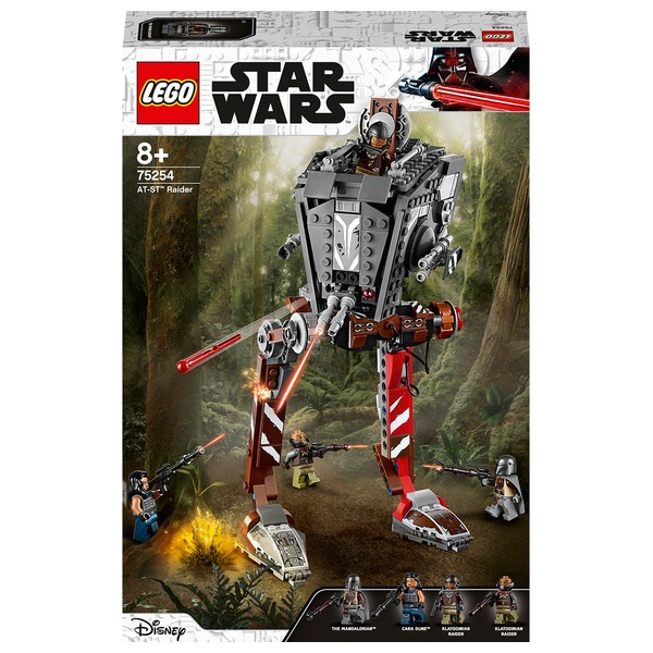 LEGO 75254 Star Wars AT-ST Raider The Mandalorian TV Series Set