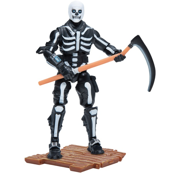 Fortnite Skull Trooper - Solo Mode 10cm Core Figure Pack