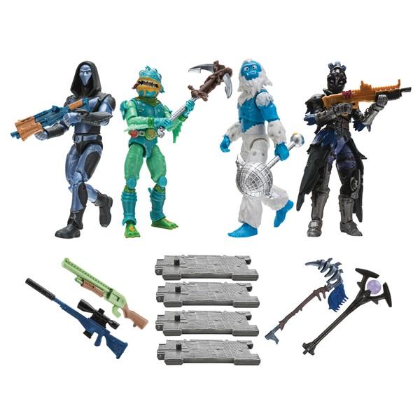 Fortnite Squad Mode 10cm Figure 4 Pack
