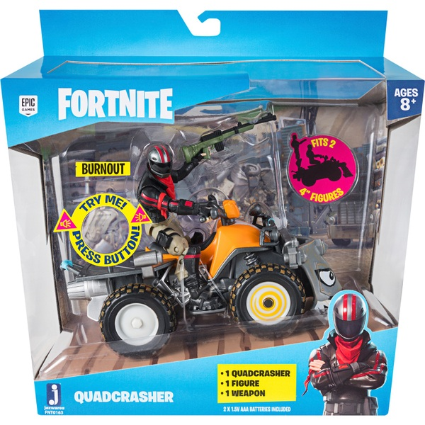 Fortnite Quadcrasher Deluxe Action Vehicle