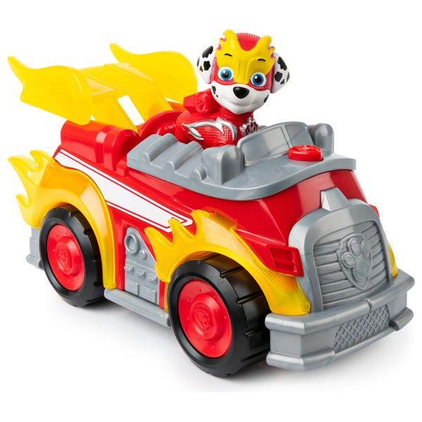 PAW Patrol Mighty Pups Super Paws Deluxe Vehicle - Marshall
