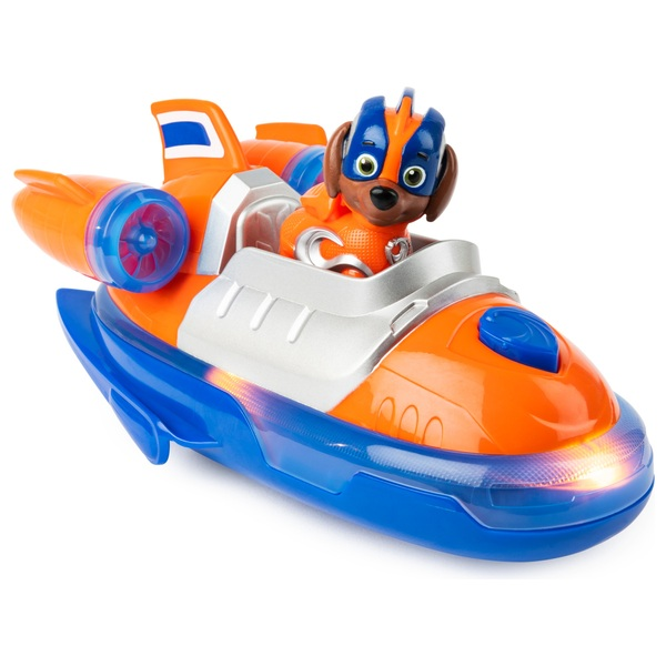 PAW Patrol Mighty Pups Super Paws Deluxe Vehicle - Zuma