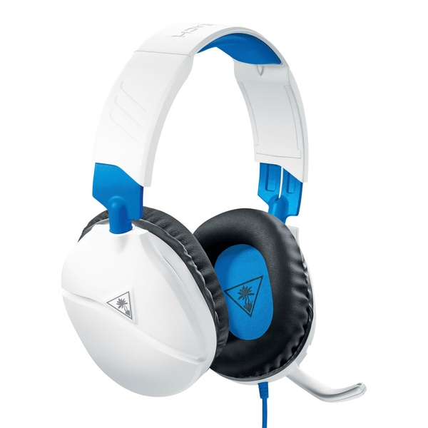 Turtle Beach Recon 70p White Gaming Headset for PS4, Xbox, Switch, PC