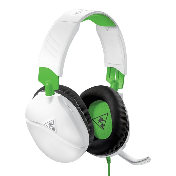 Turtle Beach Recon 70x White Gaming Headset for Xbox, PS4, Switch, PC