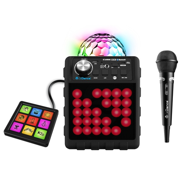 iDance 5-in-1 Disco Cube with Bluetooth