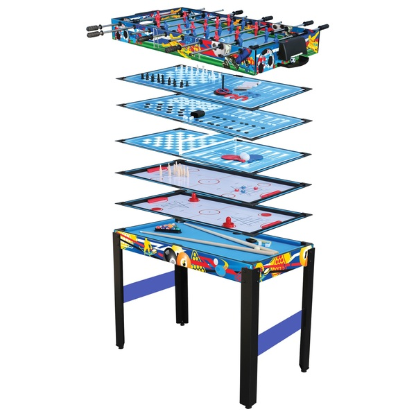 12 in 1 Combo Games Table  - 4 Foot