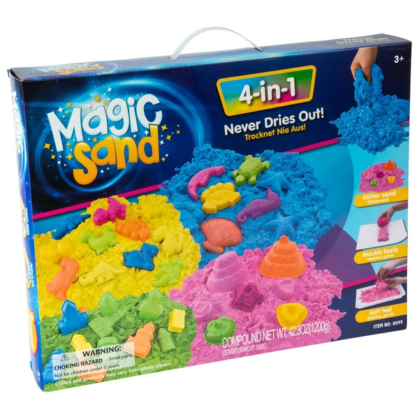 4-in-1 Magic Sand
