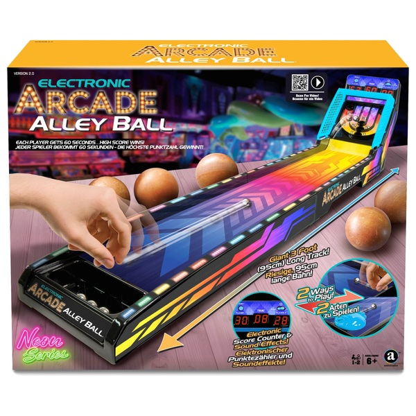 Electronic Arcade Alley Ball Neon Series