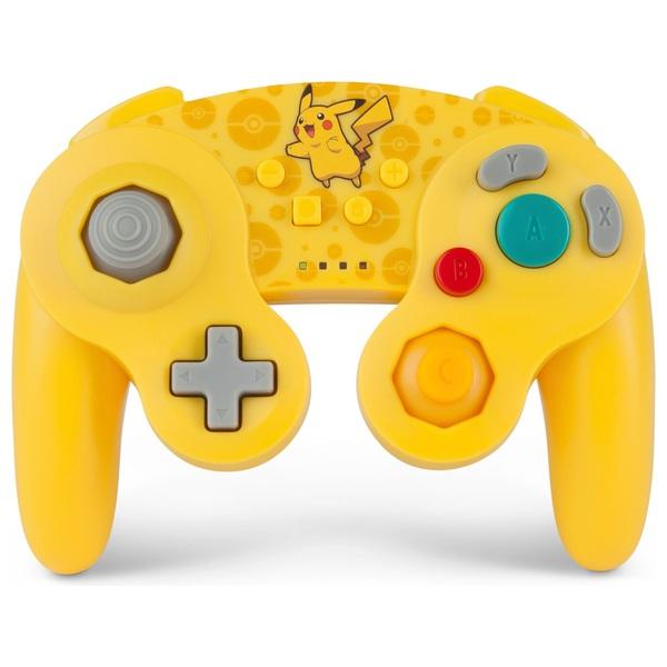 Pikachu Pokémon Wireless GameCube Style Controller for Nintendo Switch