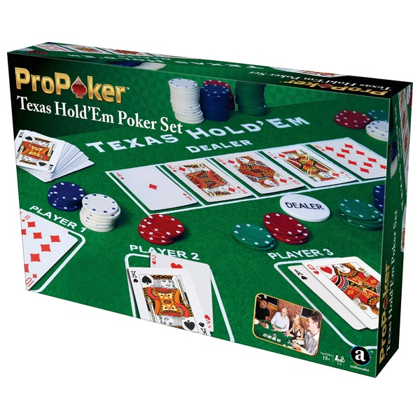 ProPoker 200 Poker Chips With Felt Mat