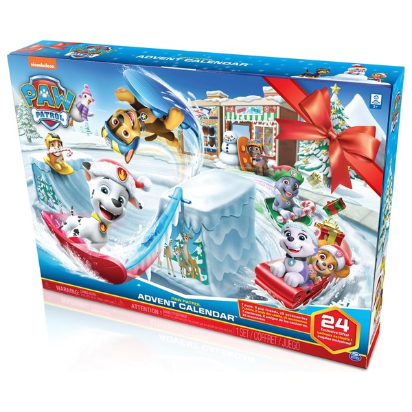 PAW Patrol 2019 Advent Calendar with 24 Collectible Pieces