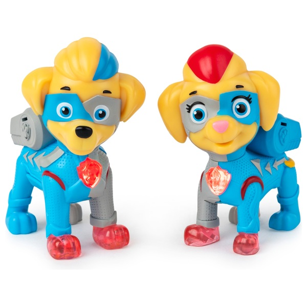 PAW Patrol Mighty Twins Light Up Figures 2-Pack