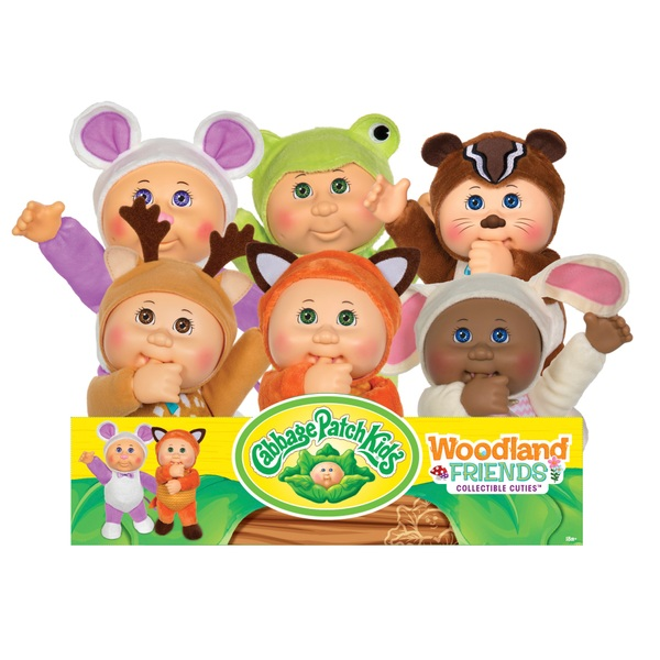 Cabbage Patch Kids 23cm Woodland Friend Cuties