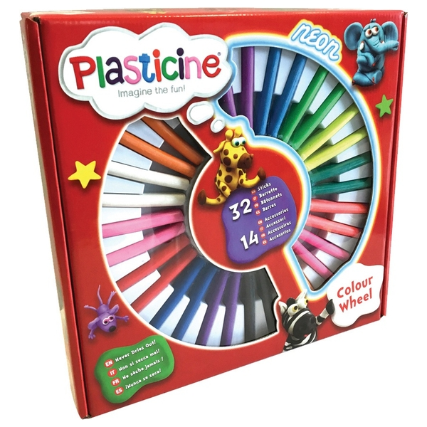 Plasticine Colour Wheel