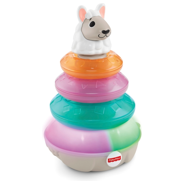 Fisher-Price Linkimals Lights & Colours Llama Baby Toy
