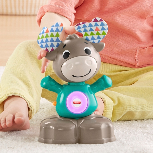 Fisher-Price Linkimals Musical Moose Baby Toy