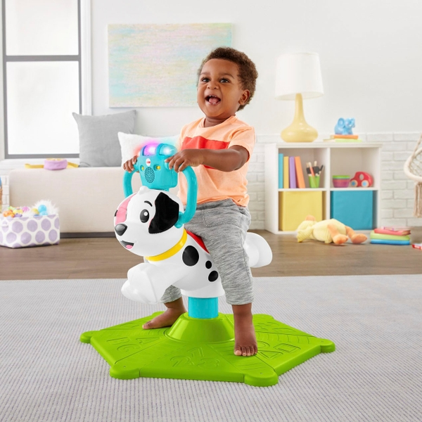Fisher-Price Bounce and Spin Puppy Ride On