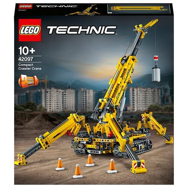 LEGO 42097 Technic Compact Crawler Crane Construction Set