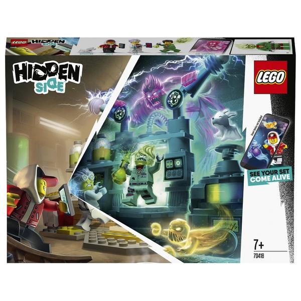 LEGO 70418 Hidden Side J.B.'s Ghost Lab Set AR Game App