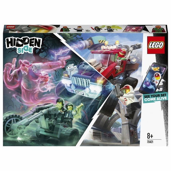 LEGO 70421 Hidden Side El Fuego's Stunt Truck AR Games Set