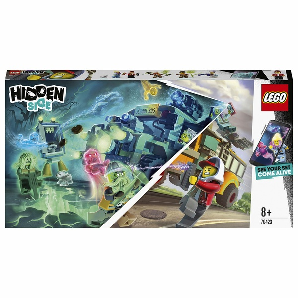 LEGO 70423 Hidden Side Paranormal Intercept Bus AR Game Set