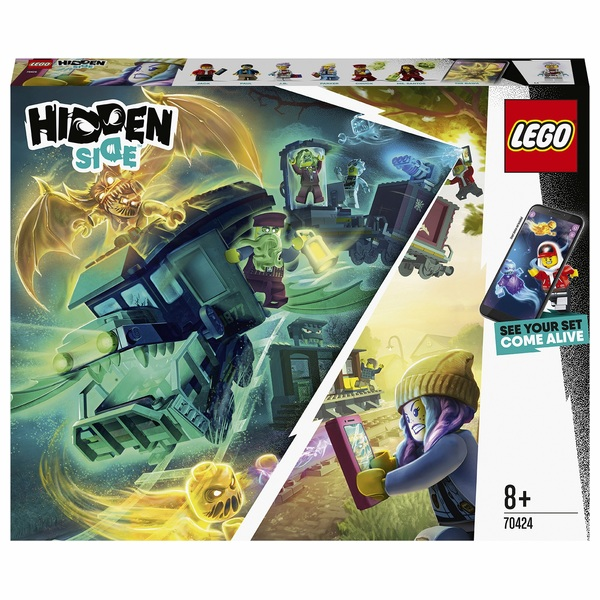 LEGO 70424 Hidden Side Ghost Train Express with AR Games Set
