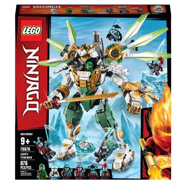 LEGO 70676 NINJAGO Lloyd's Titan Mech Action Figure