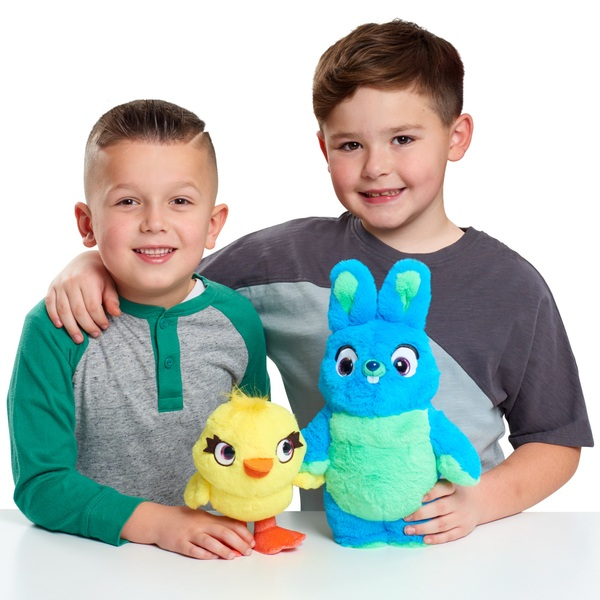 Toy Story 4 Ducky and Bunny Talking Plush