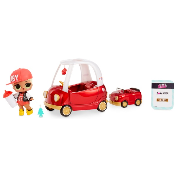 L.O.L Surprise! Furniture Pack Cozy Coupe with M.C. Swag