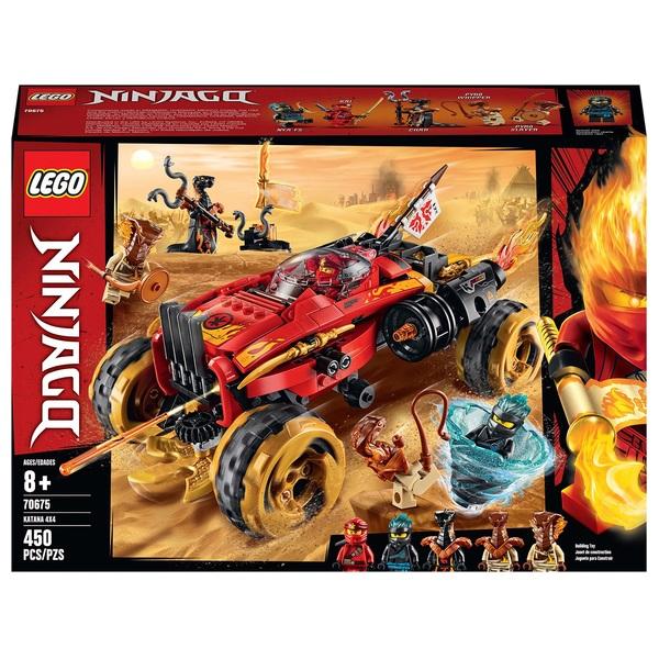 LEGO 70675 NINJAGO Katana 4x4 Vehicle Toy with 5 Minifigures