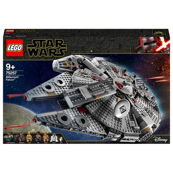 LEGO 75257 Star Wars Millennium Falcon Starship Building Set