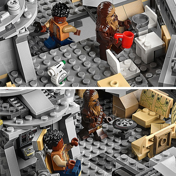 Lego 75257 Star Wars Millennium Falcon Starship Building Set Smyths Toys Ireland